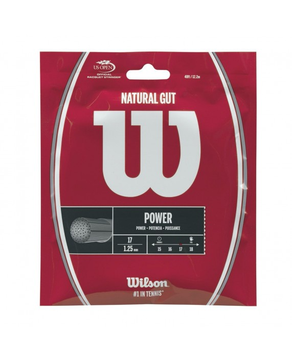 WILSON NATURAL GUT 1.25 SET 12 M NATURAL