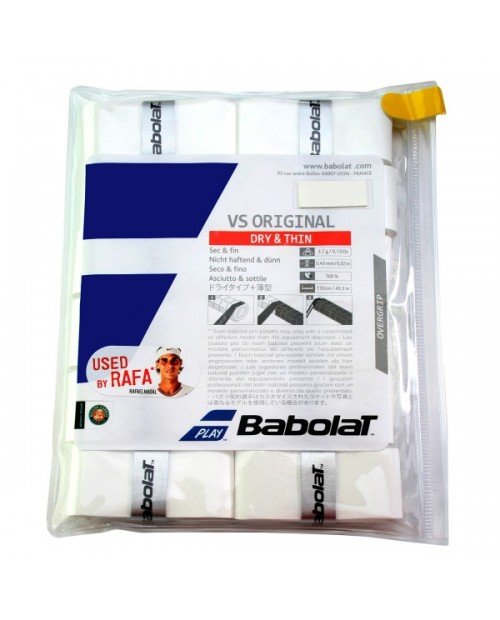 12 OVERGRIP BABOLAT VS ORIGINAL