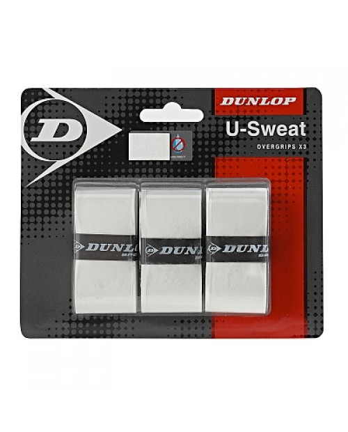 DUNLOP U-SWEAT OVERGRIP X3