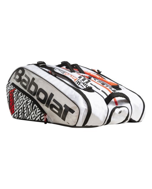 Babolat Pure Strike x 12 Borsa White/Red
