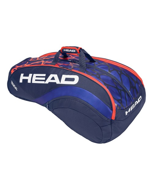 Head Radical 12R Monstercombi Bag Blue/Orange