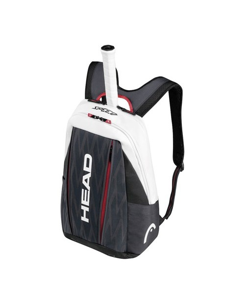 Djokovic Zaino  BACKPACK - Nero, Bianco