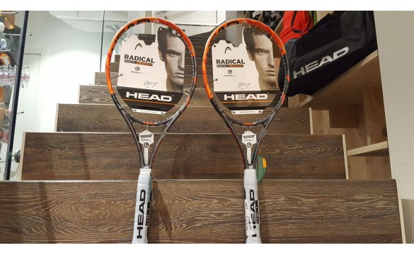 Offerta Coppia Head graphene Radical